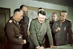 """Hitler has an explosive break with German High Command, sacking Chief of General Staff Franz Halder, for """"pessimism"""":"""