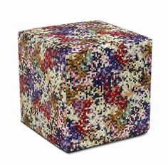 Discover the Missoni Home Lobos Cube Pouf - T159  - 40x40x40cm at Amara