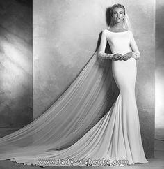 41. Meerjungfrau Brautkleid mit schleppe  Alle Brautkleid http://de.lady-vishenka.com/fishtail-wedding-dress-train-2016/