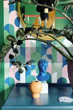 Carpe Diem Wallpaper in Monochrome – Lust Home Power Wallpaper, Baby Wallpaper, Unique Wallpaper, Tree Wallpaper, Burgundy Flowers, Pink Flowers, Herringbone Wallpaper, Green Interior Design, Go Your Own Way