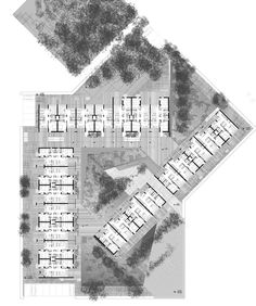 """First Price in the European Architectural Design Competition for """"Community social housing authorities to ECO design"""" – Architecture is art Social Housing Architecture, Architecture Résidentielle, Architecture Graphics, Plan Hotel, Eco Design, Design Ideas, Plan Design, Architecture Presentation Board, Design Competitions"""