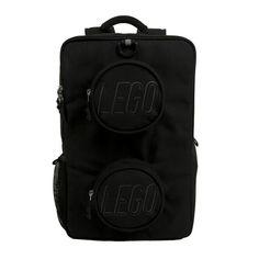 036cb49aa8 LEGO Black Brick Eco Backpack