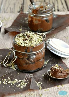 Orange Cardamom Chocolate Mousse   Recipe   Mousse, Dairy and Dairy ...