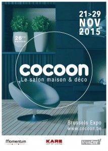 #Salon Cocoon à Bruxelles du 21 au 29 novembre 2015. Le salon incontournable de la maison et de la décoration intérieure. http://www.batilogis.fr/agenda/salon-france-2015-1.html