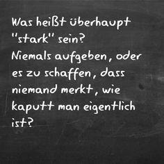 #stark #aufgeben #schmerzvoll