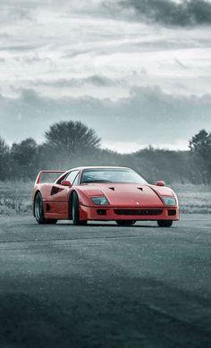 The ORIGINAL Supercar rivalry:  Ferrari F40 - Driving passion & Heritage Porsche 959 - Efficient & Technical progression.