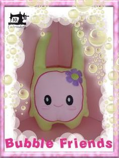 10EMBROIDERY Project Bubble Friends CUDDLE 001 (36K)