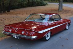 1961 Chevrolet Impala..Re-pin Brought to you by agents at #HouseofInsurance in #EugeneOregon for #LowCostInsurance.