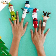 AistBox: 60 идей Нового года: новогодний пальчиковый театр