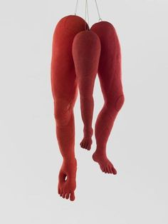 Image result for images of louise bourgeois sewn legs