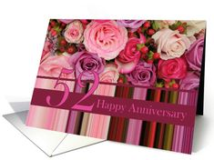 Wedding Anniversary Card - Pastel roses and stripes card Created from an original Studio Porto Sabbia photo! This Pastel roses and stripes wedding anniversary card is available for anniversary years 1 to 75 and for some non-english languages. 29th Wedding Anniversary, Happy Anniversary Cards, Anniversary Years, Homemade Wedding Gifts, Cheap Wedding Invitations, Pastel Roses, Pink Roses, Stripes, Greeting Cards