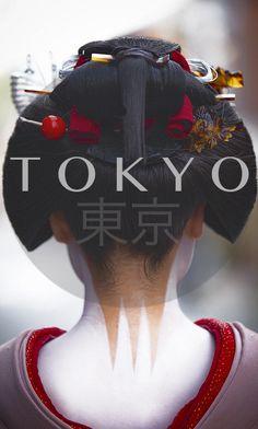 Maiko (apprentice geisha) wears Sakko hairstyle and erotic neck design, Japan. Geisha Make-up, Geisha Kunst, Japanese Kimono, Japanese Art, Traditional Japanese, Japanese Style, Japanese Beauty, Asian Beauty, Japanese Makeup