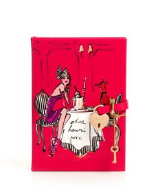 Notice cute heart lock key!  Very hard to find a lockable journal anymore! PUPPY LOVE DIARY | Stationery | Henri Bendel