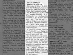 Robert E. Fishback ... 2 Dec 1969