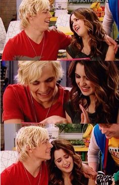 Auslly!!!!!!❤️❤️❤️❤️ Austin and Ally looking and watching their babies sleep