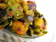 Walor Muthia nu Shaak Recipe (Flat Beans Stir Fry with Dumplings)