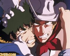 Cowboy Bebop.... wow but I hated Andy.