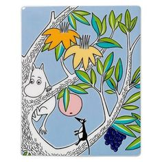 Moomin deco tree Moomintroll by Arabia