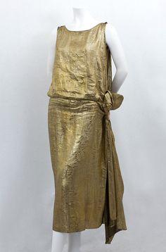Evening dress, ca 1923, Vintage Textile