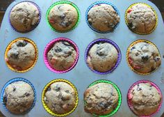Whole Wheat Triple Berry Muffins: With Healthy Swaps! – Simply Taralynn