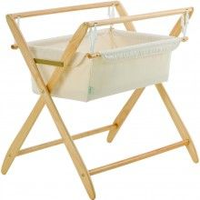 Gentle Motions Crib Set, Natural
