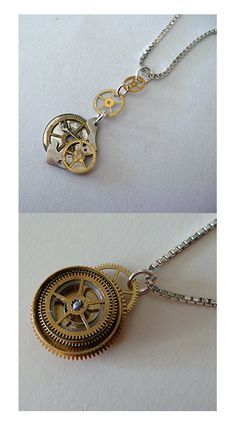 steampunk jewelry by ~fresh4u on deviantART