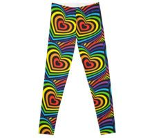 Gothic Leggings, Rainbow Heart, Trends, 3d, Trending Outfits, Shopping, Design, Beauty Trends