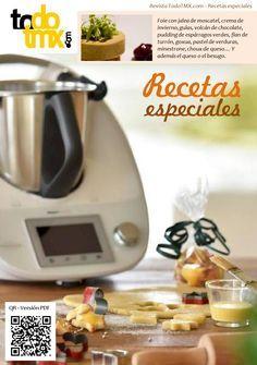 Recetas especiales - TodoTMX / Todo Thermomix Recetas especiales para hacer con su Thermomix: Foie con jalea de moscatel, choux de queso, gulas, volcán de chocolate, pudding de espárragos verdes, cebollas confitadas, pastel de verduras, minestrone...