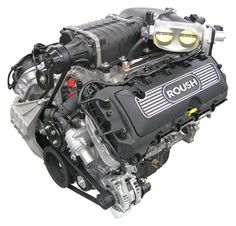 Roush 600 hp Supercharged Coyote 5.0 engine