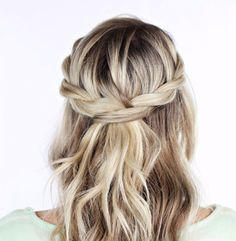 Half-Up Hairstyles Your Should Try Instead Of Your Usual Top Knot | The Gloss