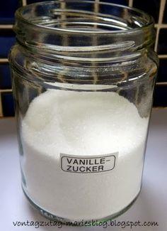 @vontagzutagmari Vanillezucker selbstgemacht. Einfach, schnell und kostengünstig. http://vontagzutag-mariesblog.blogspot.com