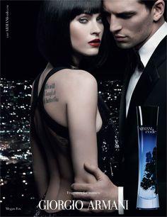 Armani Code Woman by Giorgio Armani with Megan Fox