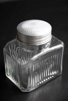 Vintage Style Glass Storage Jars - Small