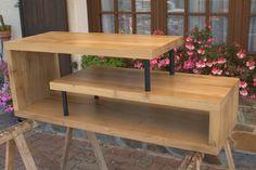 Meuble télé et tables basses gigognes de style « épuré » | Bois+ Le Bouvet