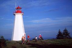 Cape George Lighthouse. Antigonish County, Nova Scotia.