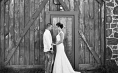 We finally got to take wedding pictures and they turned out so amazing. I love the barn behind us! #weddingpictures