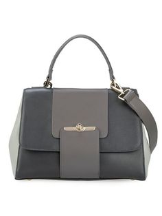 Dream Closet: Gray leather Bag by Choies
