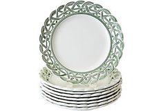 Tiffany Majolica dinner plates