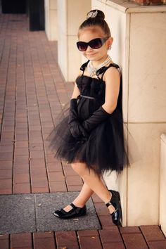 Children's Audrey Hepburn costume!