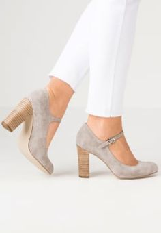 Pier One - Decolleté - grey Scarpe Di Mary Jane c519e05689a