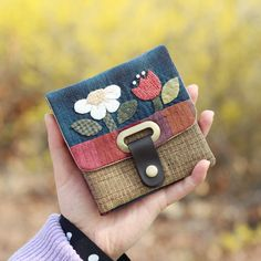 [Kit] Byhands Two for One Wallet – byhands Hand Craft Japanese Patchwork, Patchwork Bags, Quilted Bag, Coin Purse Tutorial, Wallet Tutorial, Quilting Thread, Pencil Bags, Sewing Art, Patch Quilt