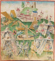Diebold Schilling, Amtliche Berner Chronik, Bd. 1 Bern · 1478-1483 Mss.h.h.I.1  Folio 58