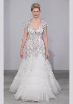 Pnina Tornai Nupcial 2011: love the detail on this dress