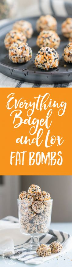 Everything Bagel and Lox Keto Fat Bombs http://www.healthstartsinthekitchen.com/recipe/everything-bagel-lox-keto-fat-bombs/