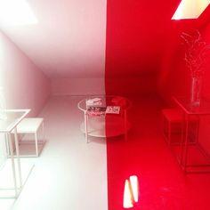 #rojoyblanco #asimetrico #azotea #taller582 #whitestripes #asimmetry #light #rooftop