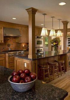 101 awesome craftsman kitchen design ideas (3)