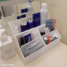 スキンケア・基礎化粧品のおしゃれ収納方法をブログレポート【100均や無印良品】