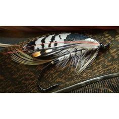 """33 Likes, 2 Comments - Jin-woo Lee (@whiskeyjin) on Instagram: """"Freestyle.....tied in hand #flytying #flyfishing#speyfishing #steelhead#wetfly #salmonflies…"""""""