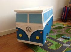 TIP : VW-bus speelgoedkist