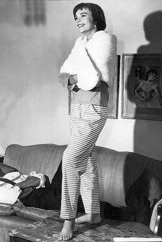 Natalie Wood/Stripes